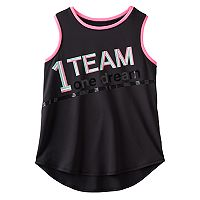 Girls 7-16 & Plus Size SO® Contrast Binding Graphic Tank Top