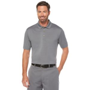 Men's Grand Slam Regular-Fit Striped Performance Golf Polo