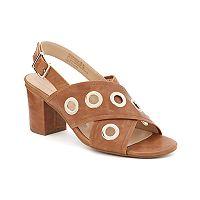Andrew Geller Starrika Women's Block Heel Sandals