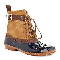 Henry Ferrera Mission 18 Women's Water-Resistant Duck Boots