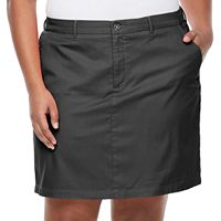 Plus Size Croft & Barrow® Essential Twill Skort