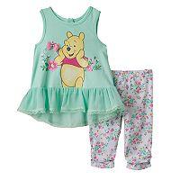 Disney's Winnie the Pooh Tunic & Capris Set