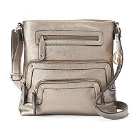 La Diva Zipper Crossbody Bag