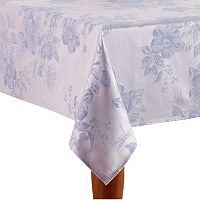 Celebrate Easter Together Solid Floral Tablecloth