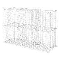 Whitmor 6-pack Wire Storage Cubes