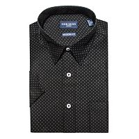 Men's Nick Dunn Modern-Fit Patterned Dress Shirt