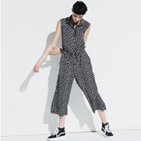 k/lab Print Wide Leg Jumpsuit