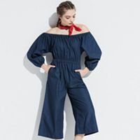 k/lab Denim Jumpsuit