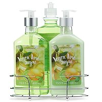 Simple Pleasures 3-pc. Lemon Lime Sugar Caddy Gift Set
