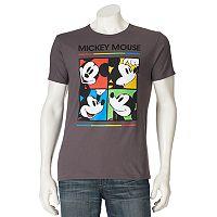 Men's Disney Mickey Mouse Square Tee