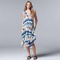 Women's Simply Vera Vera Wang Print Midi Dress