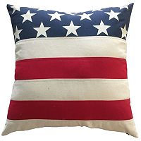 Stars and Stripes Oversize Throw Pillow