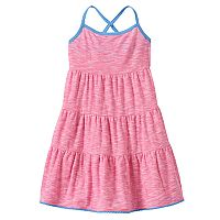 Toddler Girl Jumping Beans® Striped Tiered Dress
