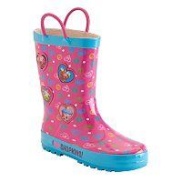 Girls 4-16 Shopkins D'lish Donut, Apple Blossom & Cupcake Chic Rain Boots