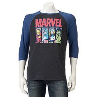 Men's Marvel Avengers Raglan Tee