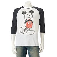 Men's Disney Mickey Mouse Raglan Tee