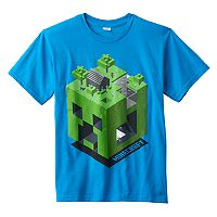 Boys 8-20 Minecraft Creeper Dimension Tee