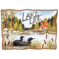 Certified International Lake Life Rectangular Platter