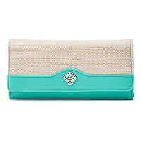 Croft & Barrow® File Master RFID-Blocking Medallion Clutch