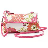 Croft & Barrow® Chelsea Safe Keeper RFID-Blocking Floral Crossbody Bag
