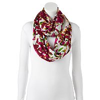 Manhattan Accessories Co. Floral Infinity Scarf