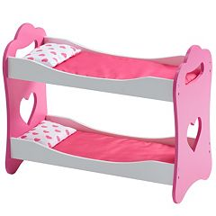 Olivia's Little World Princess of Hearts 18-in. Doll Bunk Bed by