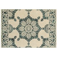 StyleHaven Juliet Two-Tone Medallion Rug