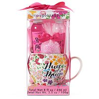 Simple Pleasures Hug in a Mug Ceramic Mug Bath Set
