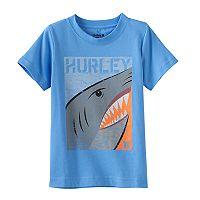 Boys 4-7 Hurley Shark Split Graphic Tee