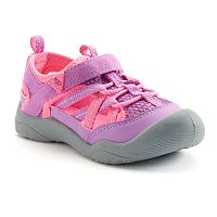 OshKosh B'gosh® Toddler Girls' Bump-Toe Sandals