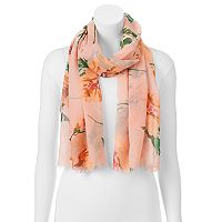 Manhattan Accessories Co. Scattered Floral Oblong Scarf