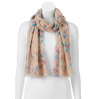Manhattan Accessories Co. Bird Oblong Scarf