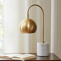 Madison Park Signature Brass Finish Arc Table lamp by