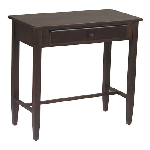 Home Star Products Espresso Foyer Table