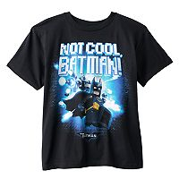 Boys 8-20 The Lego Batman Movie Not Cool Tee