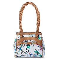 Rosetti Twist It Up Floral Triple-Entry Shoulder Bag