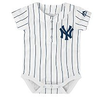 Baby Majestic New York Yankees Cool Base Replica Jersey Bodysuit