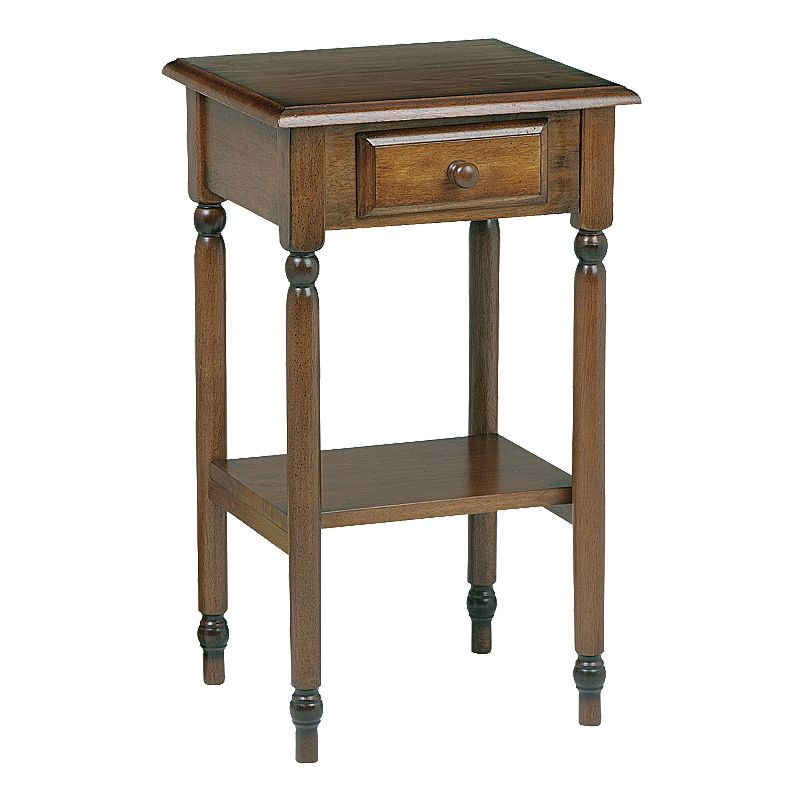 Home Star Products Knob Hill Telephone Accent Table