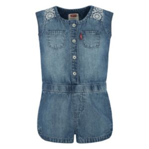 Girls 4-6x Levi's Denim Romper
