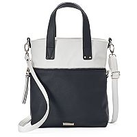 madden NYC Jodi Covertible Satchel Crossbody Bag