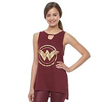 Juniors' Her Universe Wonder Woman Shield Graphic Tank by DC Comics
