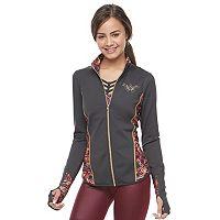 Juniors' Her Universe Wonder Woman Long Sleeve Performance Jacket by DC Comics