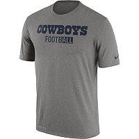 Men's Nike Dallas Cowboys Legend Staff Sideline Dri-FIT Tee