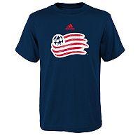 Boys 8-20 adidas New England Revolution Primary Logo Tee