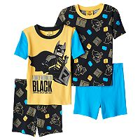 Boys 4-10 The Lego Batman Movie 4-Piece Pajama Set
