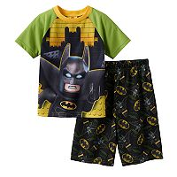 Boys 4-10 The Lego Batman Movie 2-Piece Pajama Set