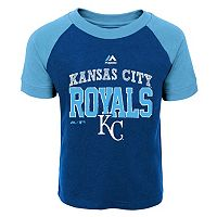 Toddler Majestic Kansas City Royals Game Ringer Tee
