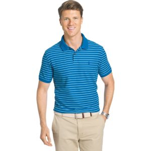 Men's IZOD Advantage Classic-Fit Striped Performance Polo