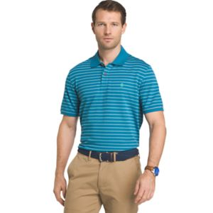 Men's IZOD Sportflex Classic-Fit Feeder-Striped Performance Polo