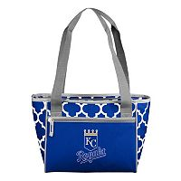 Logo Brand Kansas City Royals 16-Can Quatrefoil Cooler Tote